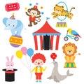 Circus Animal Set