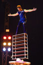 Circus artist Royalty Free Stock Photo