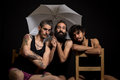 Circus Artists And Friends Hav...