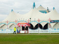Circus big top the tent of billy smart s Royalty Free Stock Photos