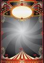 Circus black background Royalty Free Stock Photo