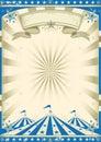 Circus blue vintage