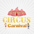 Circus carnival vector illustration of poster design for Stock Photos