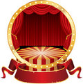 Circus circle Royalty Free Stock Photos