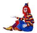 Circus Clown Royalty Free Stock Photo