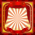 Circus Frame Poster Background Stock Photos