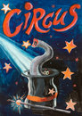 Circus Funny Illusion Poster