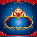 Circus magic leaflet Royalty Free Stock Photography
