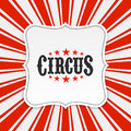 Circus poster background illustration Stock Photo