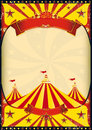 Circus poster big top Royalty Free Stock Photos