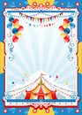 Circus poster with space for text Royalty Free Stock Photography