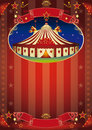 Circus show flyer Royalty Free Stock Photo