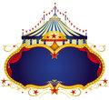 Circus sign Royalty Free Stock Photos
