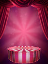 Circus stage Royalty Free Stock Image