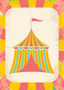 Circus tent Royalty Free Stock Images