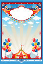 Circus tent background Stock Photography