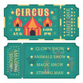 Circus tickets icon
