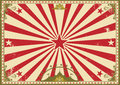 Circus vintage horizontal background