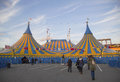 Cirque du soleil circus tent at citi field in new york april on april it is a canadian entertainment company a mix of Royalty Free Stock Photos