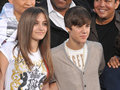 Cirque du Soleil, Justin Bieber, Michael Jackson, Paris Jackson Stock Photo