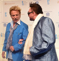 Cirque du soleil s annual one night for one drop las vegas march former magicians siegfried l and roy arrives at at the mandalay Royalty Free Stock Photography