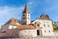Cisnadie sibiu fortified church of s city Royalty Free Stock Images