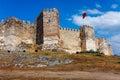 Citadel of ayasoluk in selcuk castle ramparts near ephesus the hill turkey Royalty Free Stock Images