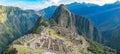Citadel of Machu Picchu Royalty Free Stock Photo