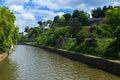 Citadel of namur belgium along the river sambre Royalty Free Stock Photography