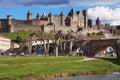 Cite de Carcassonne Royalty Free Stock Photo