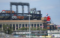 Citi field home of baseball team the ny mets flushing september major league new york on september in flushing Royalty Free Stock Image