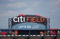 Citi field home of major league baseball team the new york mets flushing ny september on september in flushing ny Royalty Free Stock Photo