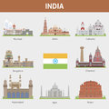 Cities of india for you design Stock Photo