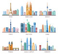 stock image of  Cities Skylines Icons Set