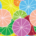 Citrics seamless pattern Royalty Free Stock Photo