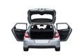 Citroën C4 isolated rear Royalty Free Stock Photo