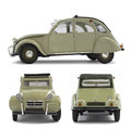 Citroen 2CV Royalty Free Stock Photo