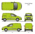 Citroen Berlingo 2016 Professional Cargo Van