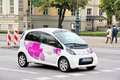 Citroen c zero berlin germany september white electric vehicle at the city street Stock Image