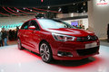 Citroen C4 world premiere at Paris Motor Show Stock Images