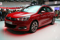 Citroen C4 world premiere at Paris Motor Show Royalty Free Stock Images