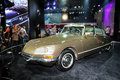 Citroen ds antique car guangzhou china november was exhibited in the th china guangzhou international automobile exhibition in Stock Photo