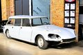 Citroen ds break berlin germany august french classic car in the workshop of the museum of vintage cars classic remise Stock Images