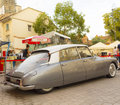 Citroen ds on vintage show Royalty Free Stock Images