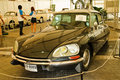 Citroen DS21, Vintage cars on display in Fut Stock Image
