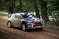 Citroen DS3 WRC car Stock Photo