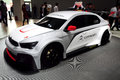 Citroen elysee wtcc racing car guangzhou china november was exhibited in the th china guangzhou international automobile Royalty Free Stock Photo