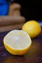 Citron juteux frais Images libres de droits