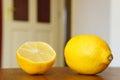 Citron juteux frais Photographie stock libre de droits