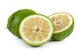 Citrus medica Linn on white background Royalty Free Stock Photo